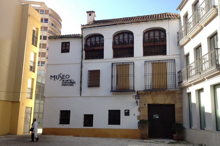 Museum of Popular Arts and Customs Hotel Torremar in Malaga